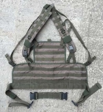 Боевой нагрудник Lightweight Commando Recon Chest Harness, М1320 - Боевой нагрудник Lightweight Commando Recon Chest Harness, М1320. Вид спереди