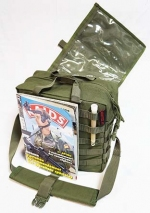 Сумка Enhanced Battle Bag модульная. Основной объем вмещает и бумаги А4 формата.