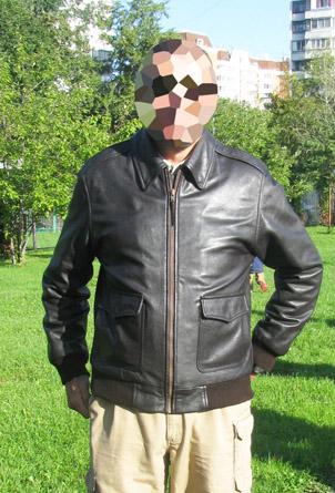 0765836739e9 Куртка кожаная полетная типа А2 - Bomber Flight jacket, D-A2