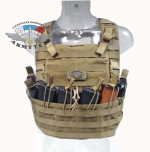 Commando chest rig - боевой нагрудник, D029-CB, coyote brown - Commando chest rig - боевой нагрудник, D029. Цвет - coyote brown